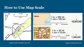 what is a map scale map scale my