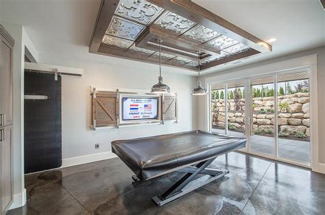 Ceiling Table by Flatscreen Tv Barn Doors