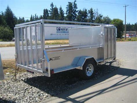 aluminum landscape trailer 5 x 11 aluminum landscaping utility trailer 2 year
