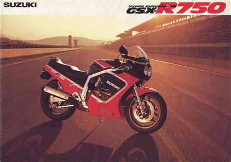 Suzuki Japan Motorcycle Planet Japan Vintage Japan Brochures Suzuki Gsx R