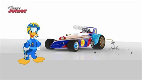 Donald Duck Racer donald duck s converting cruiser mickey mouse and the