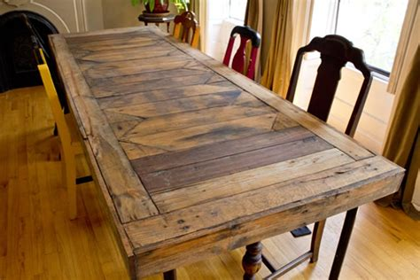 7 sweet displaying of pallet dining room table