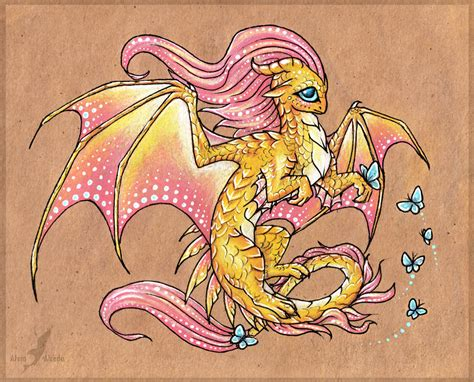 fluttershy dragon by alviaalcedo on deviantart