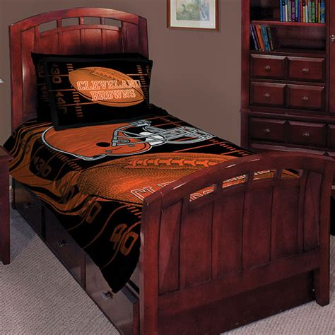 cleveland browns comforter cleveland browns nfl twin comforter set 63 quot x 86 quot