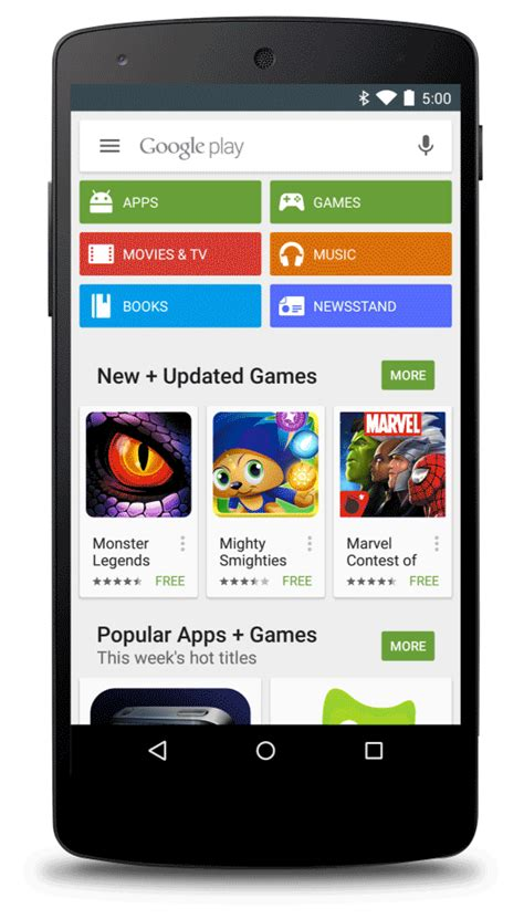 android play store sponsored android app search results coming to the play store android and me