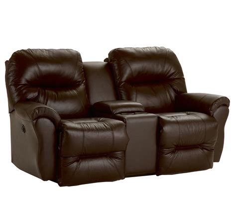 reclining loveseat with console bodie power space saver reclining loveseat with storage