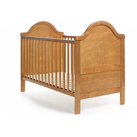 amazon bed obaby b is for bear cot bed country pine amazon co uk baby
