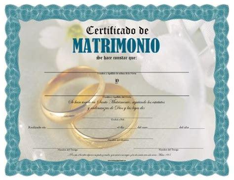 certificado de matrimonio para kermes pinterest el cat 225 logo global de ideas