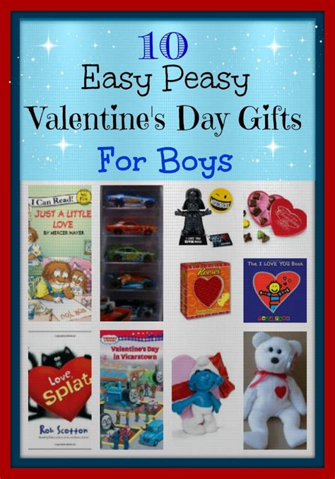 boys valentines gifts 10 easy peasy s day gifts for boys