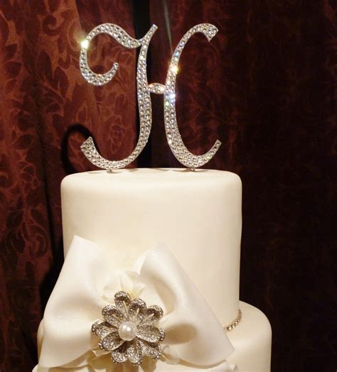 toppers for wedding cakes 23 unique monogram wedding cake toppers wedding cake ideas