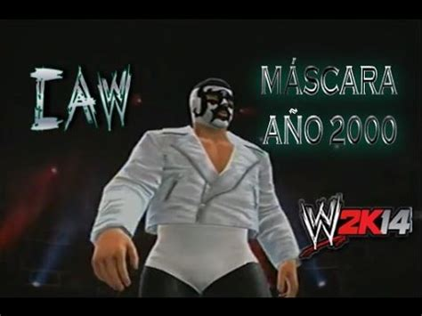 wwe 2k14 caws xbox 360 mascara a 209 o 2000 caw leyendas aaa cmll wwe 2k14 caws