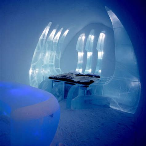 cold bedroom 21 swedish ice hotel pictures