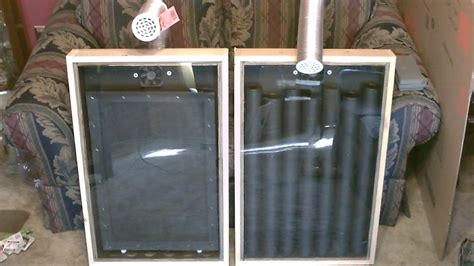 Aluminum Screen Solar Furnace - solar air heater the quot screen absorber quot solar air heater