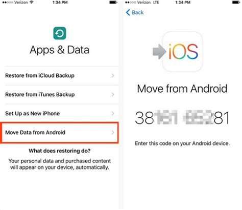 move from android to ios easiest way to migrate from android to iphone or techntrack