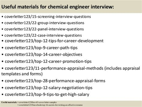 Motivation Letter Chemical Engineering top 5 chemical engineer cover letter sles