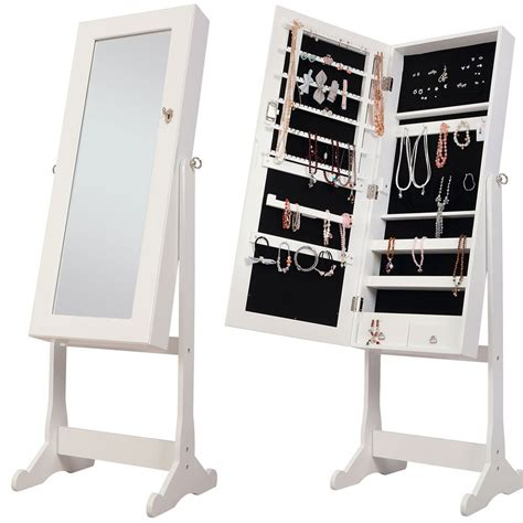 mirrored free standing bathroom cabinet nishano jewellery cabinet large white floor free standing