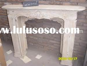 shabby chic wood fireplace mantel for the home pinterest