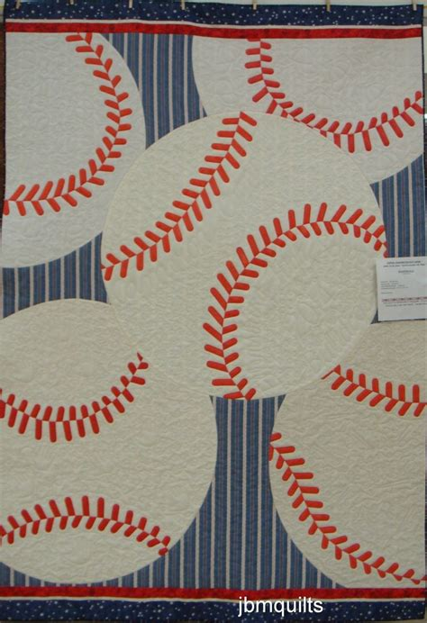 Baseball Quilt Fabric by 160 Best Images About Sports Quilts On