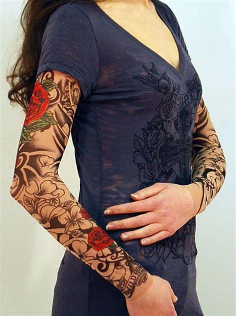 fake rose tattoos the 25 best sleeves ideas on