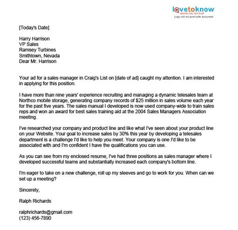 cover letter sle about yourself 28 images sle