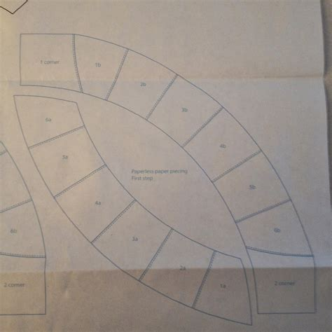Ring Quilt Pattern Templates wedding ring quilt along preparing the templates