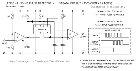 pulse detector circuit diagram lm555 pcb steady output missing pulse detectors part 39