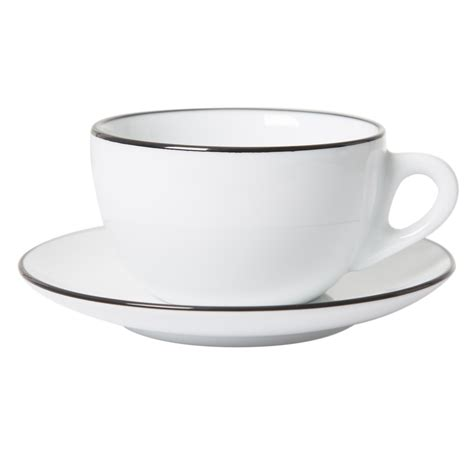 Coffee Cup With Saucer ancap verona black painted cups and saucers prima coffee