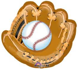 large baseball glove balloon
