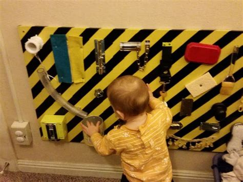 Decor For Homes 35 cool and easy diy busy boards for toddlers shelterness