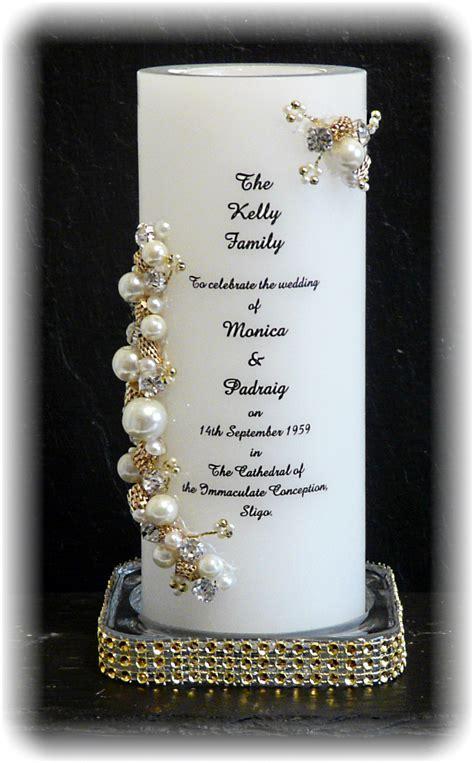 Unity Candle Wedding Candle base & lighting candles
