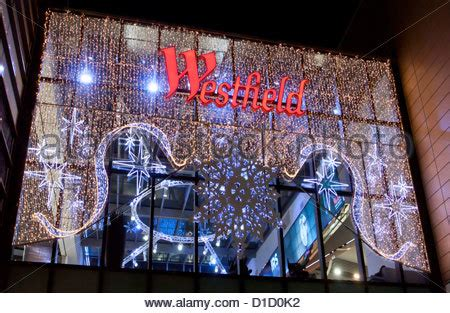 christmas decorations in wandswarth shopping centre london lights stratford stock photo royalty free image 76559761 alamy