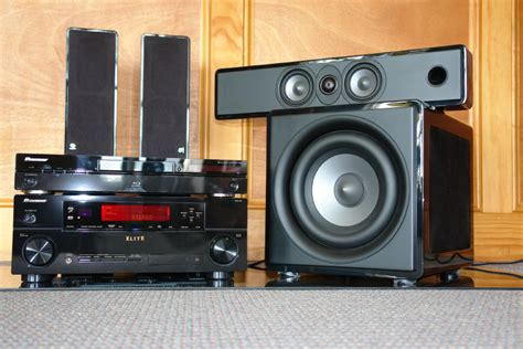 the amazing pioneer elite boston acoustics home theater system