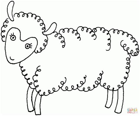 sheep outline coloring page sheep outline coloring page coloring home