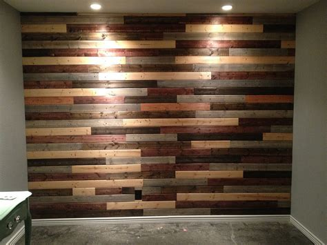 accent wall made out of pallets pallet wood projects pallet look wall out of tongue groove thread