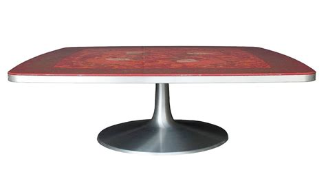 Pedestal Coffee Table Pedestal Coffee Table By Bjorn Wiinblad And Mygge For Poul Cadovius At 1stdibs