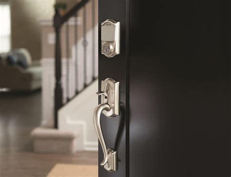 Install Deadbolt Metal Door by Getting Started With The Schlage Sense Smart Deadbolt