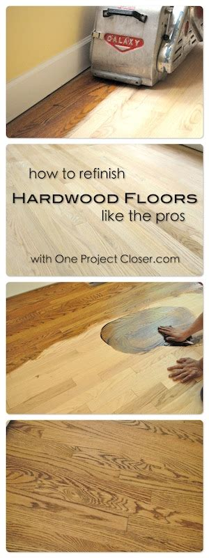 How To And Refinish Hardwood Floors by How To Refinish Hardwood Floors One Project Closer Ask