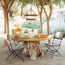 Patio Table Decor Inspire Bohemia Outdoor Dining Part I