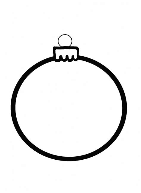 christmas ornament outline free stock photo public