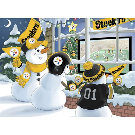 steelers christmas pics pittsburgh steelers cards the danbury mint