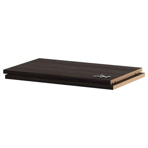 Shelf Trust by Utrusta Shelf Wood Effect Black 60x37 Cm