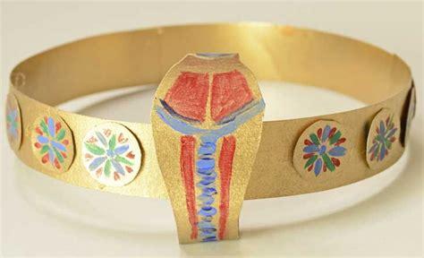 printable egyptian crown make your own ancient egyptian circlet crown diadem