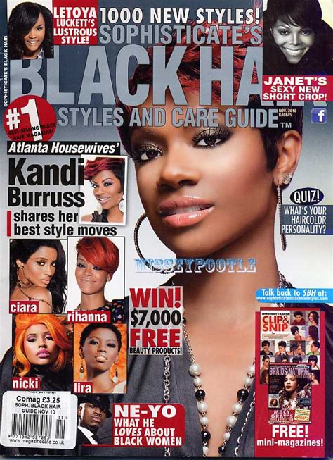 sophisticates black hairstyles magazine sophisticates black hair styles magazine november 2010 ebay
