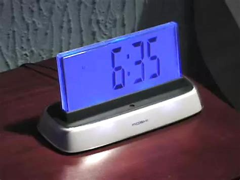 moshi interactive voice activated alarm clock 187 sportsman s guide