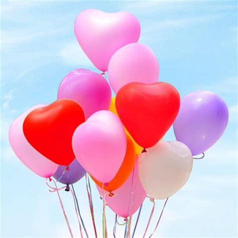 Balon Putih Balon Hati Balon Bentuk jual balon bentuk hati shaped balloon untuk