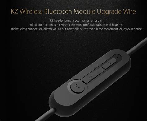 kz bluetooth cable kz wireless bluetooth module upgrade detachable wire for
