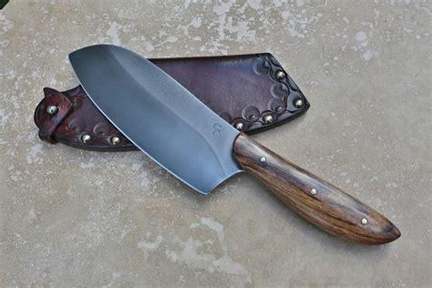 Handmade Chefs Knives - custom c chefs knife shedua wood