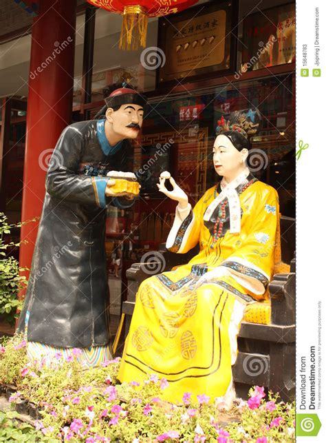 cisi woman emperor  china   servant editorial