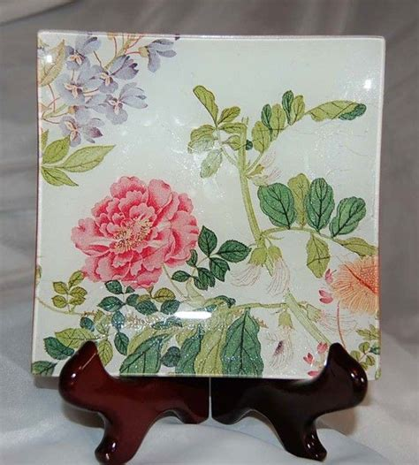 Decoupage On Plates - best 25 decoupage plates ideas on diy