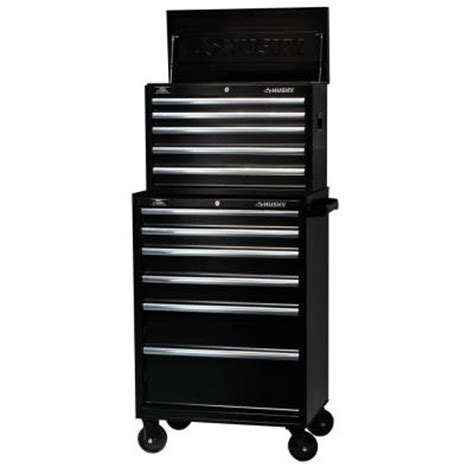 husky tool chest box 27 inch 11 drawer rolling toolbox